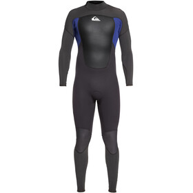 Quiksilver 3/2mm Prologue Steamer Wetsuit Men Jet Black/Nite Blue
